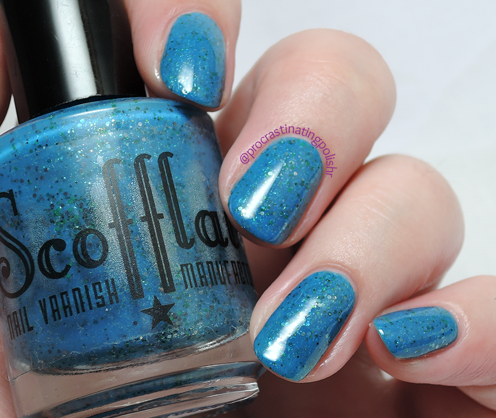 Scofflaw Nail Varnish - Aeroplane Over The Sea