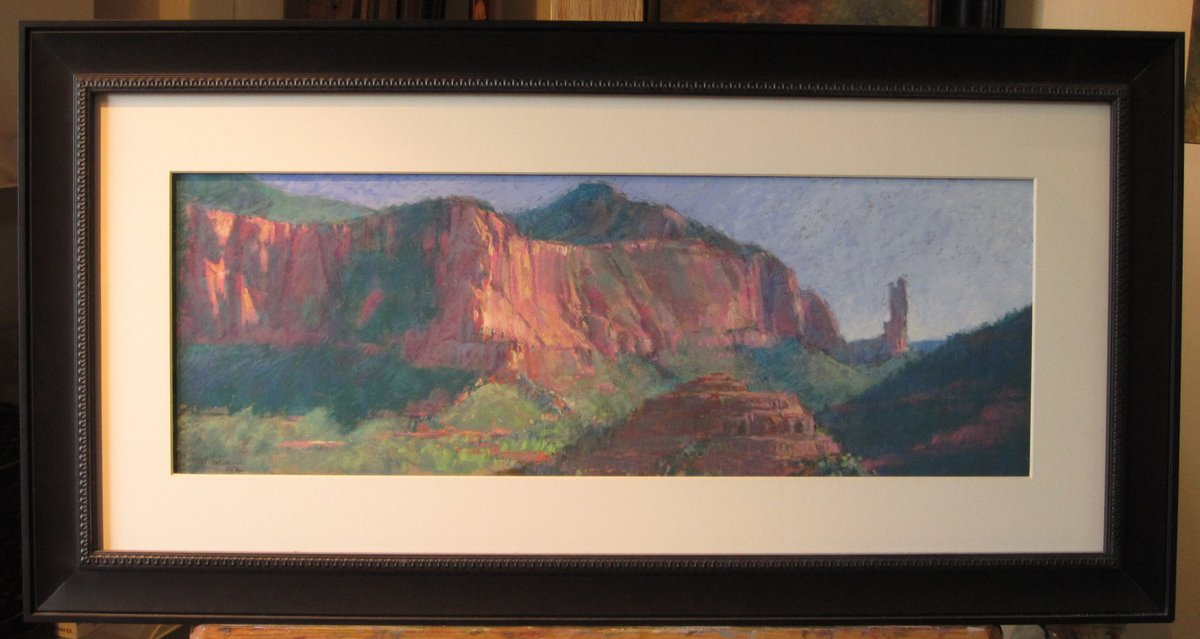 A Plein Air Painter\'s Blog - Michael Chesley Johnson: More on Framing
