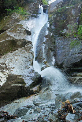 Waterfall in the Phillips River Estuary