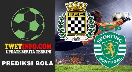 Prediksi Boavista vs Sporting CP Lisbon, Portugal 27-09-2015