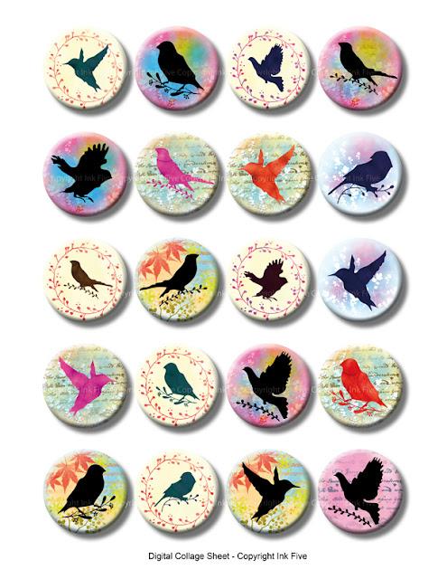 https://www.etsy.com/listing/239490036/1-inch-circles-birds-silhouettes-digital