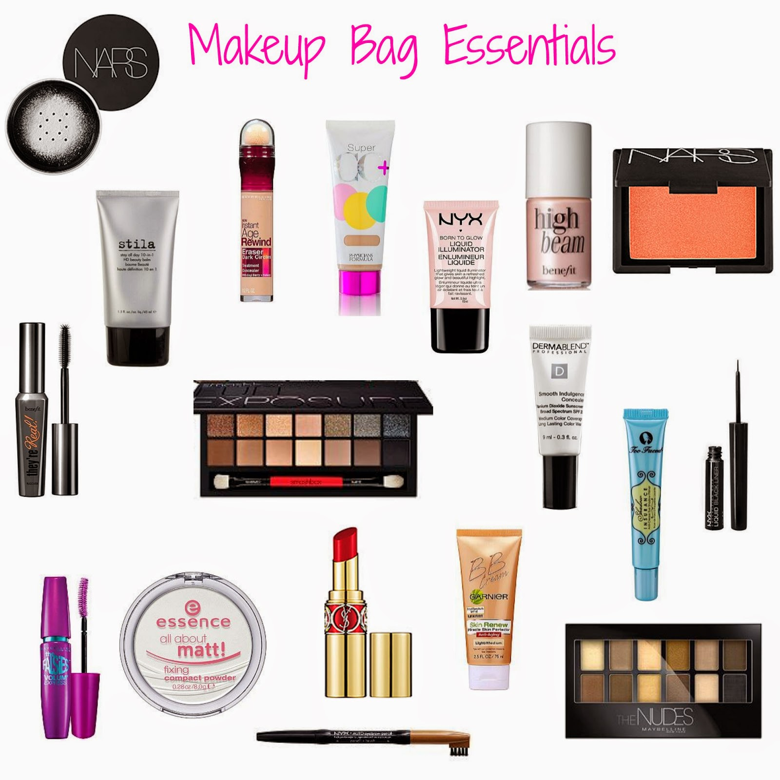 Lot 48: make up bag essentials