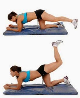 4 ejercicios básicos para levantar los glúteos