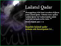 Tanda Malam Lailatul Qadar