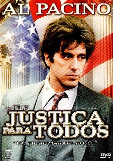 Resultado de imagem para JUSTIÇA PARA TODOS (1979) bluray