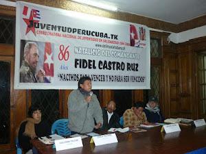 CNJ - CELEBRO EL 86 NATALICIO DE FIDEL CASTRO
