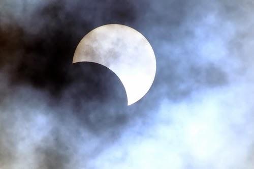 Eclissi parziale di Sole del 3.11.2013