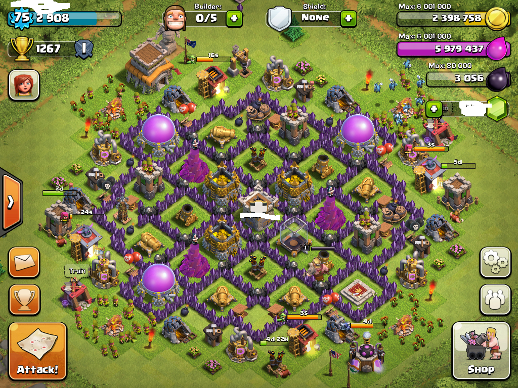 Contoh base Farming