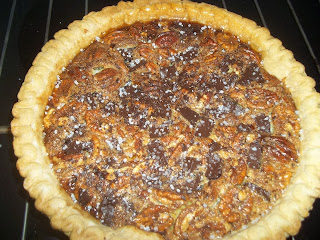 Salted Chocolate Pecan Pie from Adventures in Life with Great Food
