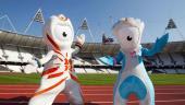 Las mascotas de los Juegos Olímpicos, ya dominan el paisaje londinense