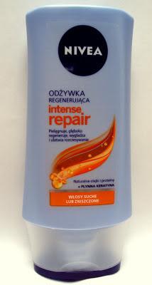 Nivea, Intense Repair, Odżywka odbudowująca do włosów suchych i zniszczonych