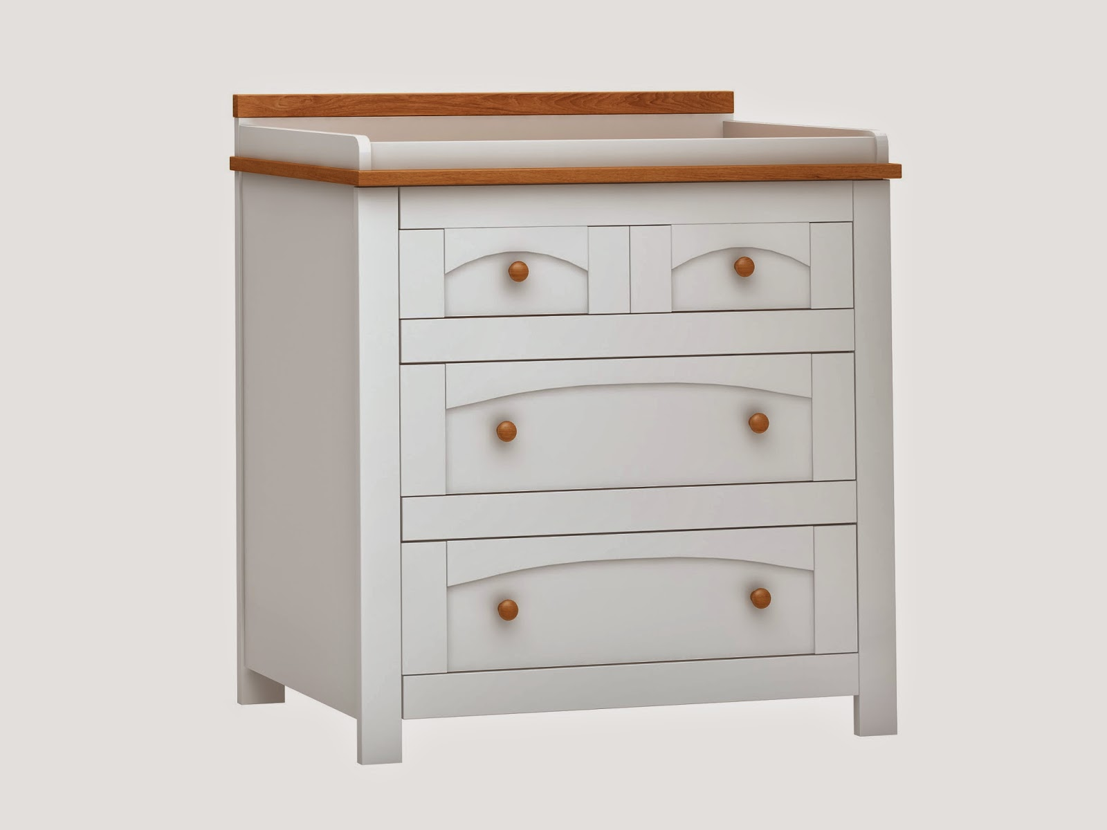 Quality White Nursery Dresser