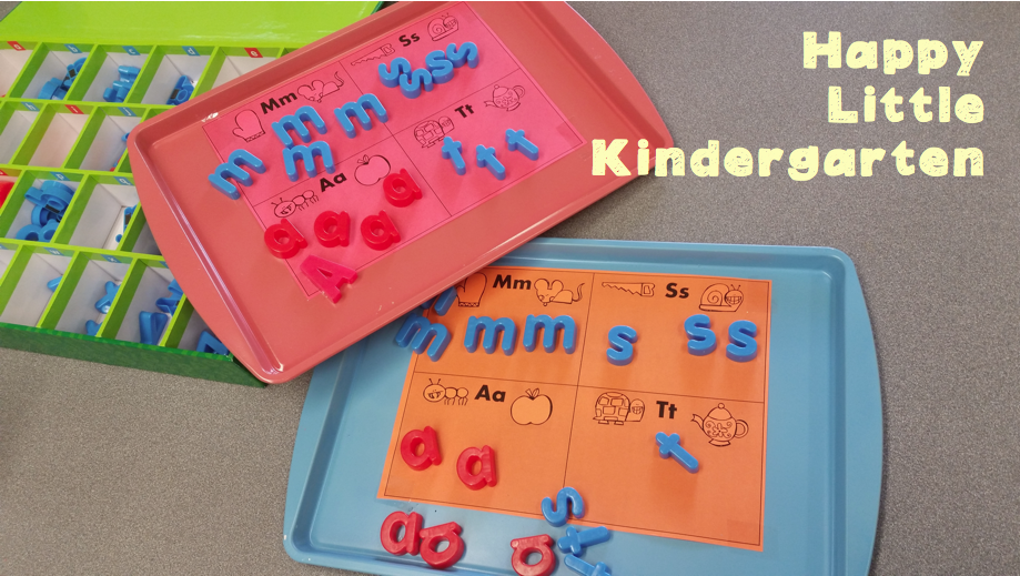 http://www.teacherspayteachers.com/Product/Magnetic-Letter-Mats-Letter-Identification-Activity-1547853