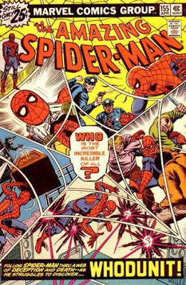 Amazing Spider-Man #155, whodunit
