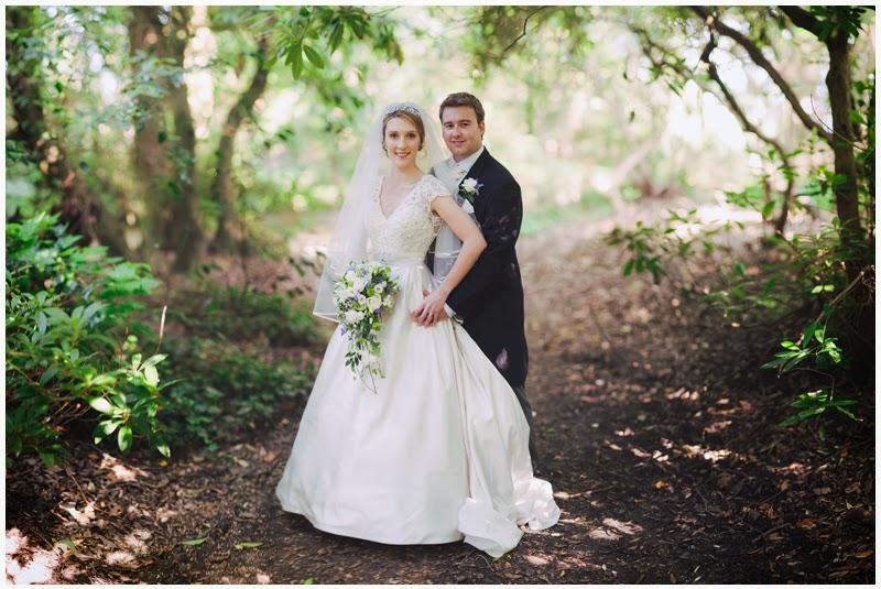 Wedding photography Highcliffe Castle Brenizer