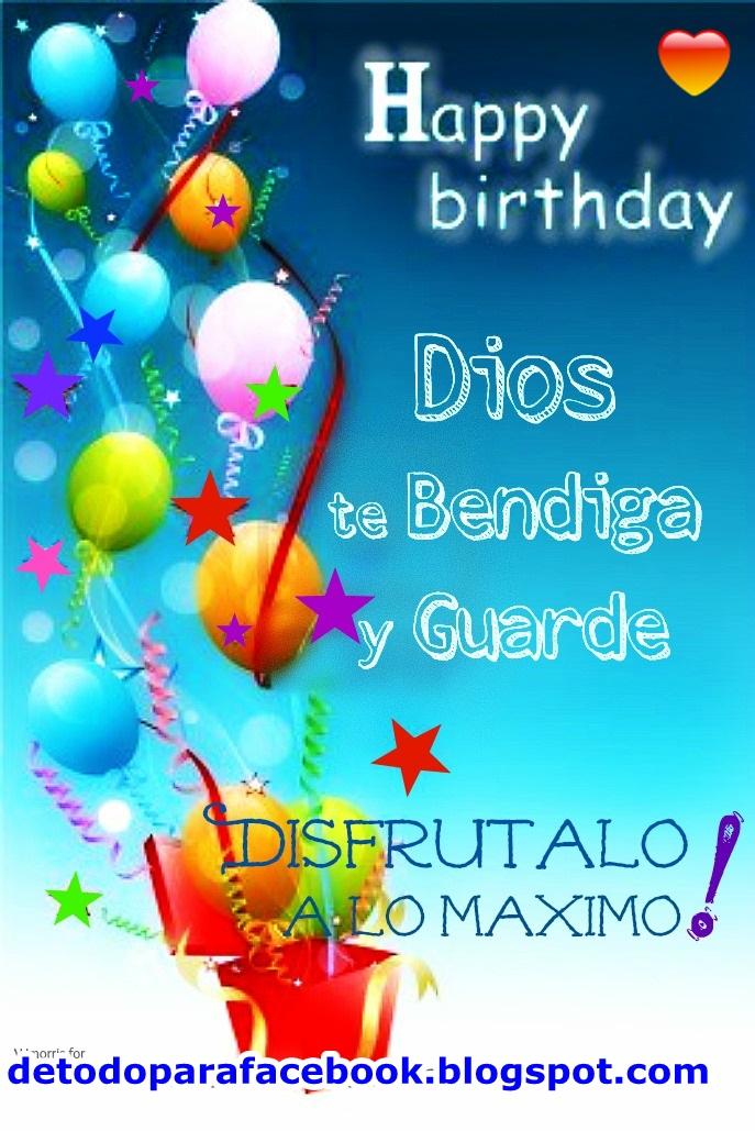 Happy Birthday Para Hombres Imagenes ~ Imagenes bonitas para muro de facebook feliz cumple a�os