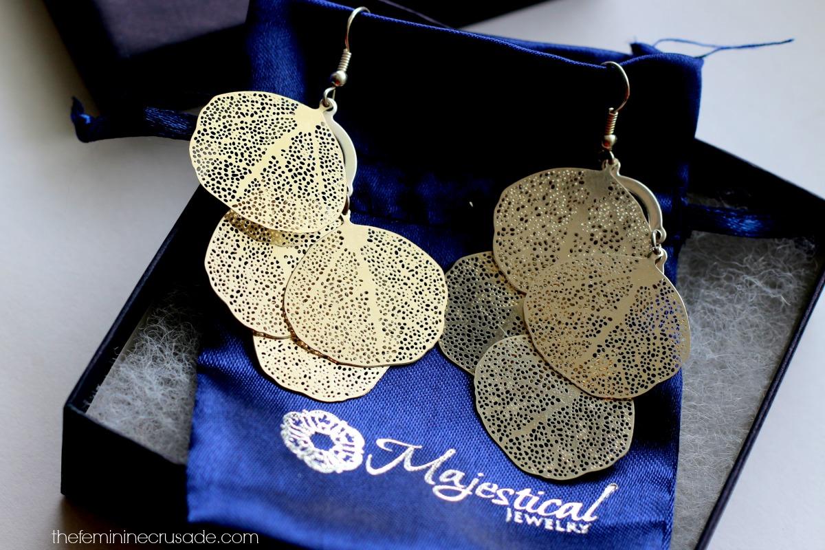 Majestical Leaf Cluster Earrings