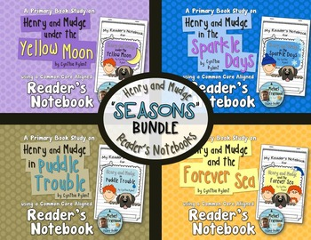http://www.teacherspayteachers.com/Product/Book-Studies-Henry-Mudge-SEASONS-Bundle-4-Readers-Notebooks-718145