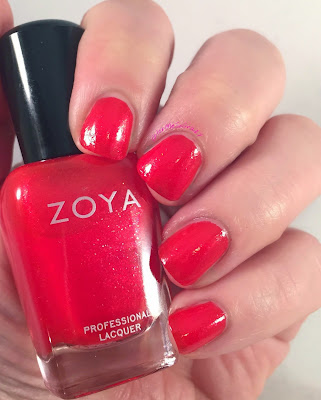 zoya aphrodite, paradise sun collection, summer 2015