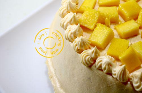 MANGO CREAM CAKE / MANGO PASTRY