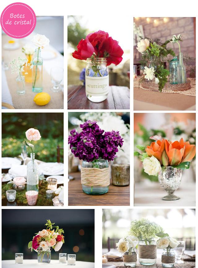 La fiesta de tus suenios variedad de centros de mesa - Mesas de cristal para bodas ...
