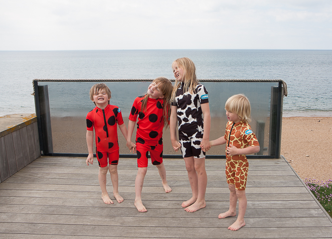 saltskin animal print wetsuits for kids