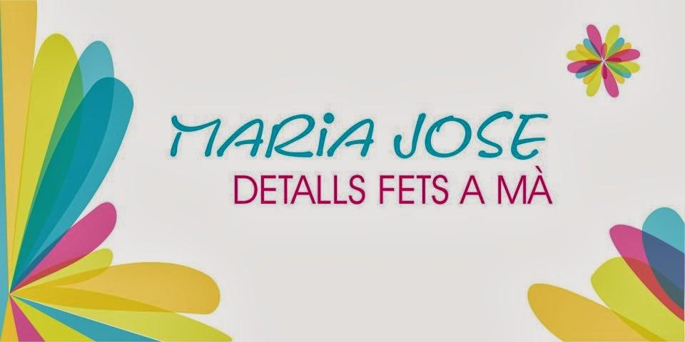 Mª Jose Detalls fets a ma