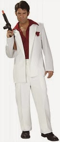 Scarface White Suit Costume for Men