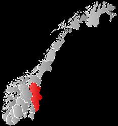 De gemeente Tolga ligt in de provincie Hedmark