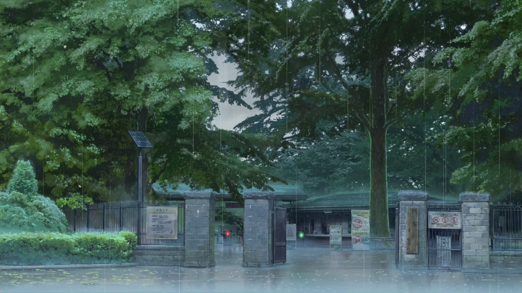 Garden In The Woods Anime