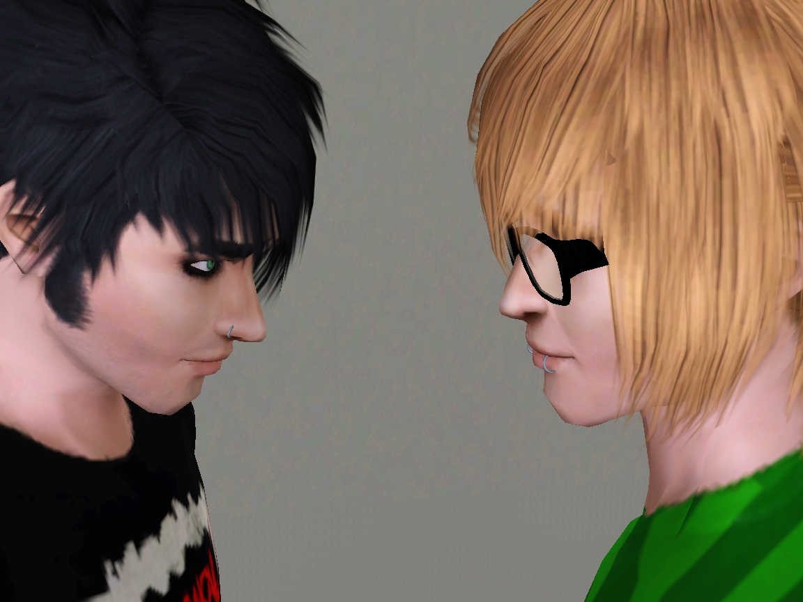 Sims 3 Cc Emo Men Hair Newhairstylesformen2014 Com