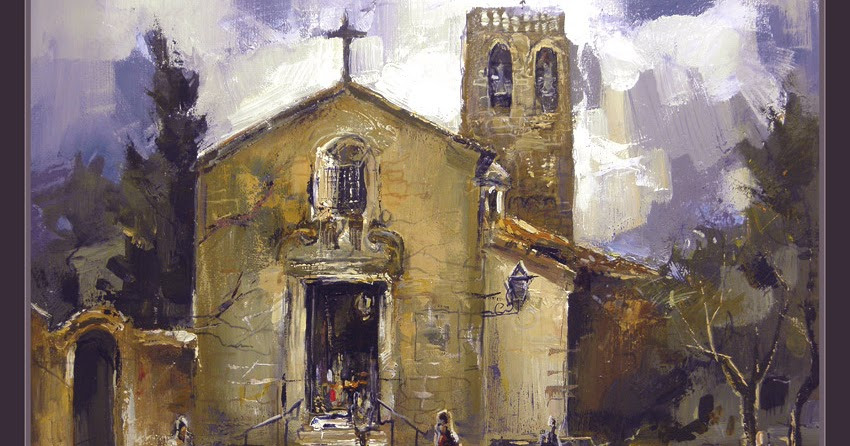 Venta pintura pintor ernest descals ermita santuario vilanova del valles pintura cuadros ernest - Pintor economico barcelona ...