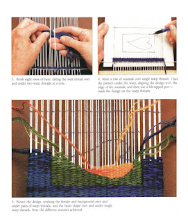 Excerpt from Tapestry Weaving by Kirsten Glasbrook