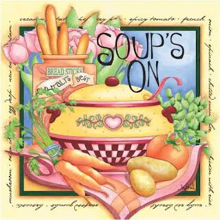 Una sopa de verduras