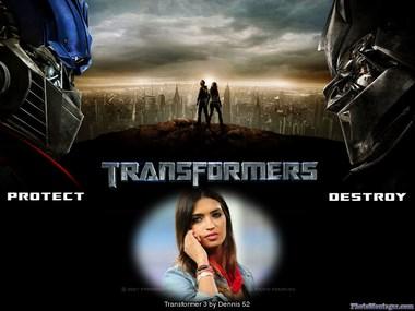 fotomontaje transformers
