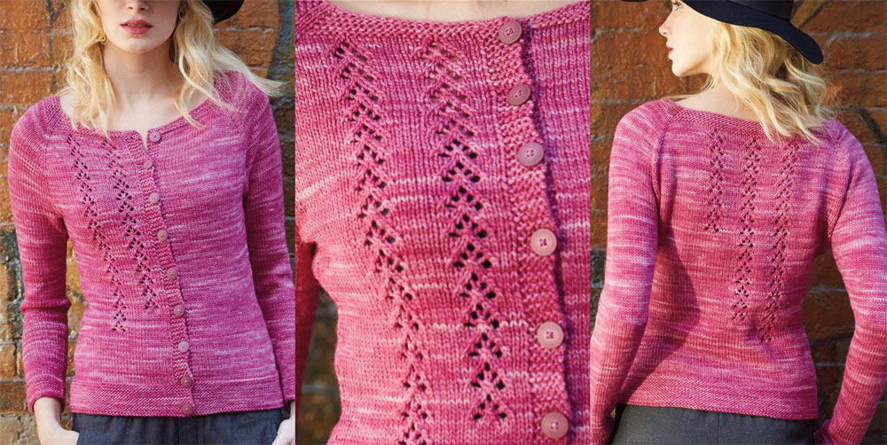 Ballet Cardigan Knitting Pattern : The Knitting Needle and the Damage Done: Vogue Knitting Early Fall 2015: A Re...
