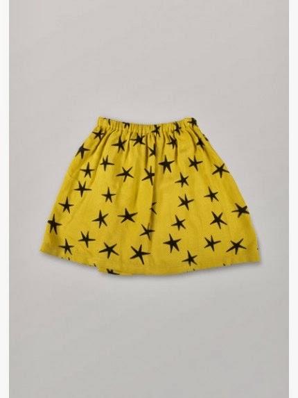 falda estrellas Bobo Choses