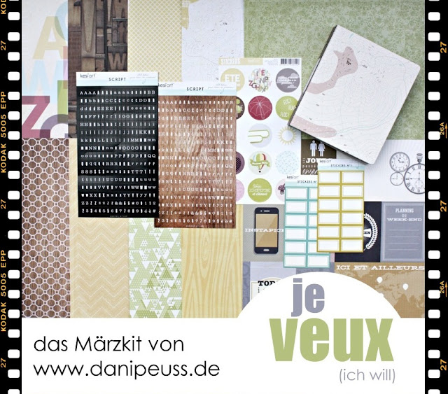 Märzkit von www.danipeuss.de | Scrapbooking