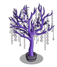 FarmvilleSharing6 Unreleased Crystal Purple and Crystal Pink Tree