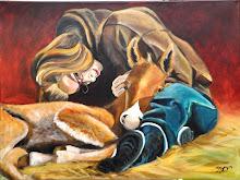 Foals first snuggle