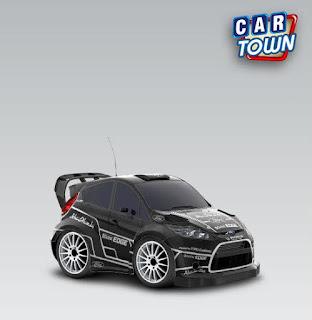 Ford Fiesta RS WRC 2012 Latvala test car