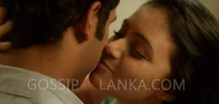 Dinakshi Priyasad's  Kissing video clip goes viral