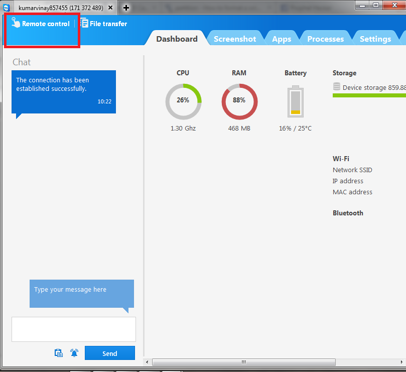 How to Control Android Phone from PC using Teamviewer ...