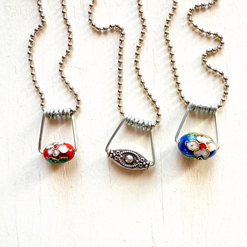 Mich L. in L.A.: Turn Clothespins Into Wirework Jewelry! (No Tools ...
