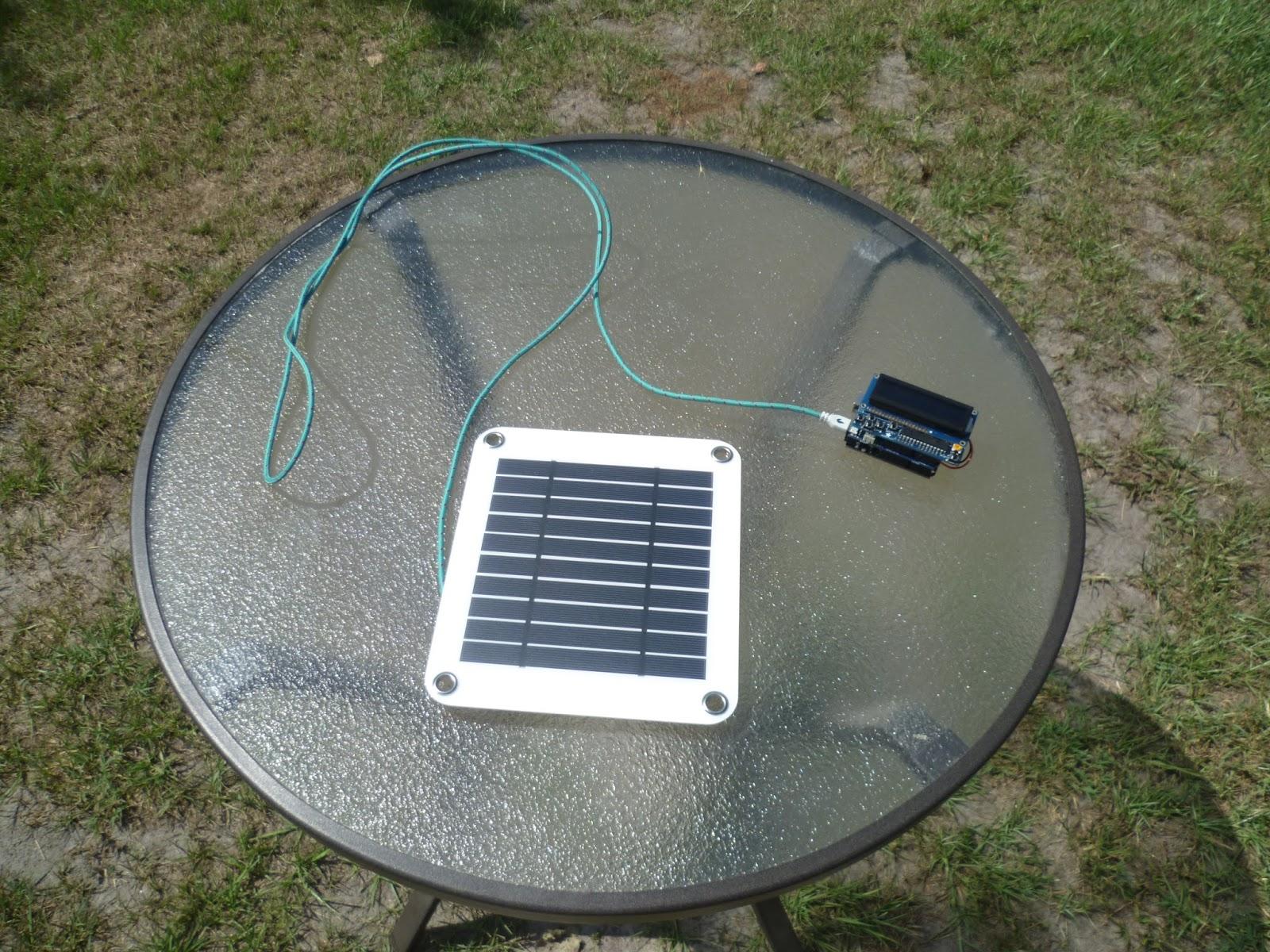 Arduino your home environment solar powered