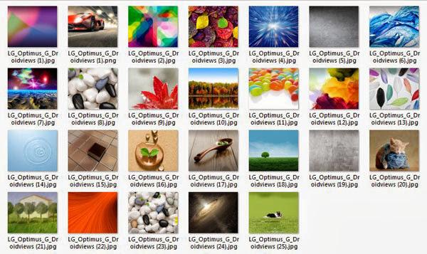 As imagens gratuitas para LG Optimus L5 II Baixar