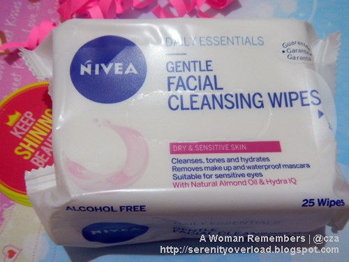 Nivea Facial Wipes, BDJ Box, BDJ Box subscription, BDJ Box unboxing