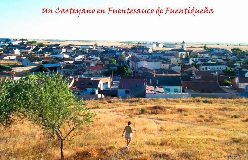Un Carteyano en Fuentesauco de Fdñª (Segovia)