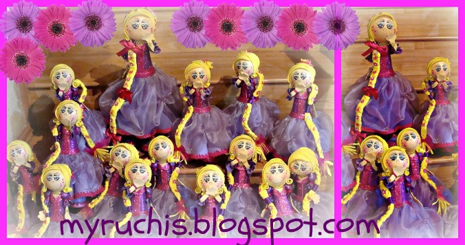 Myruchis: Decoración Fiestas Infantiles. Enredados.
