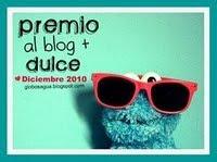 Premio al blog mas dulce